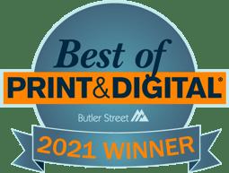 Best of Print and Digital Award 2021