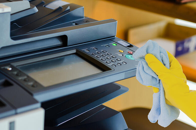 Cleaning and Disinfecting Your Office Copier, Printer