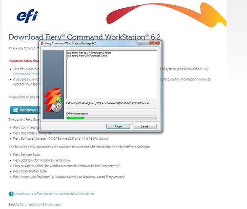 Command WorkStation Download Running