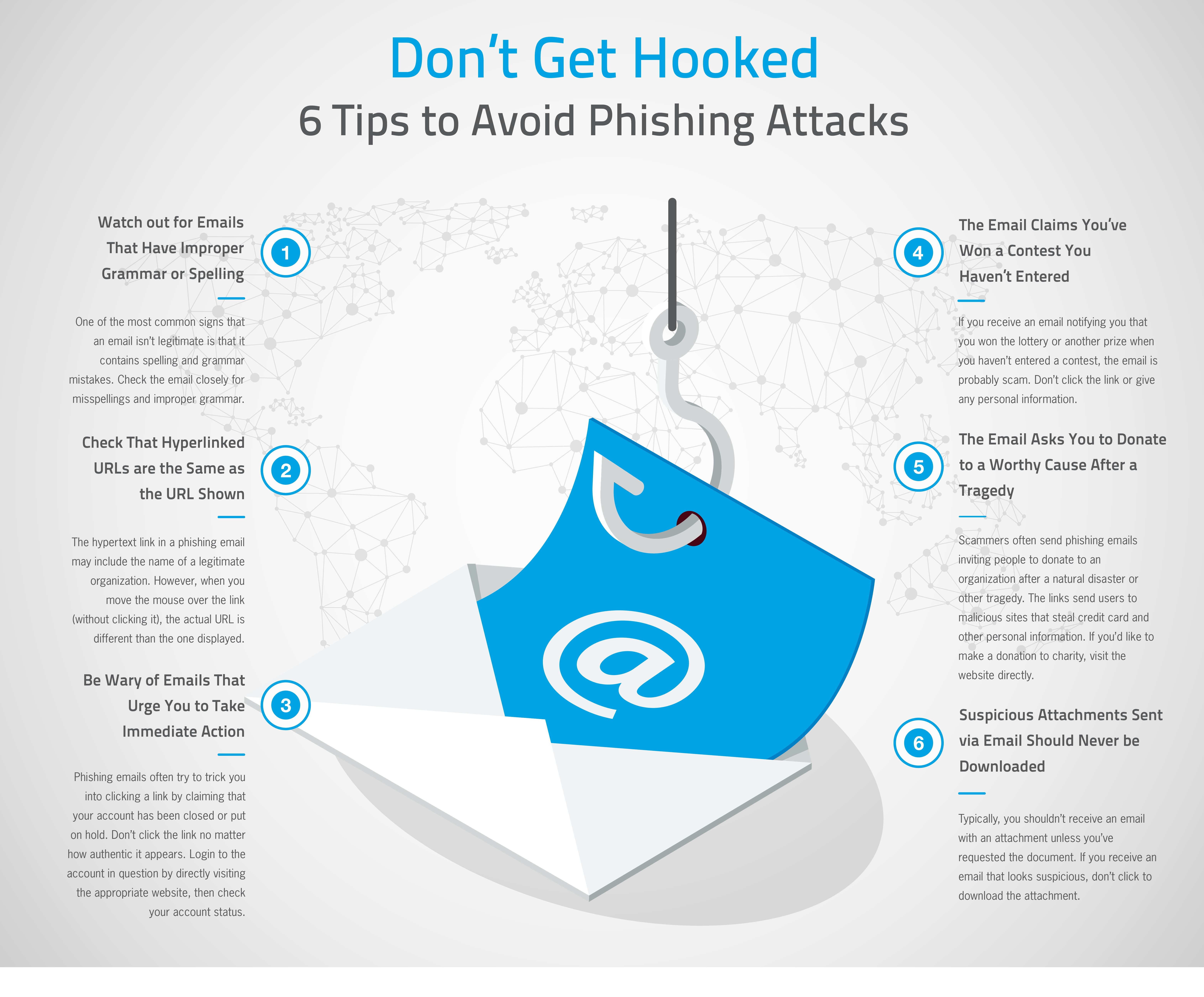 Don't Get Hooked - 6 Tips to Avoid Phishing Attacks